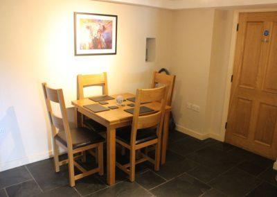 Stybarrow Dining area