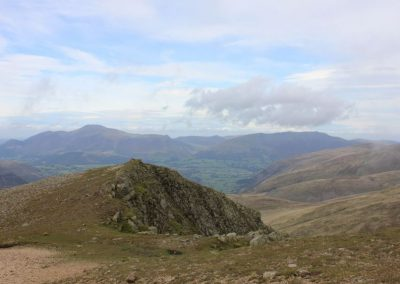 Blencathra and Skiddaw from Helvellyn (Low Nest just in view)